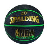 斯伯丁黑色銀標NBA 7號籃球【愛買】