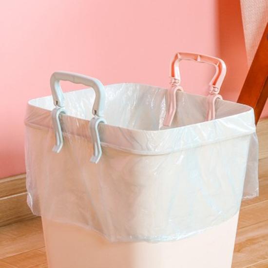 垃圾袋防滑固定夾 家用 創意 垃圾桶 防滑夾 卡扣桶邊沿固定器 帶提手夾子【N445】MY COLOR