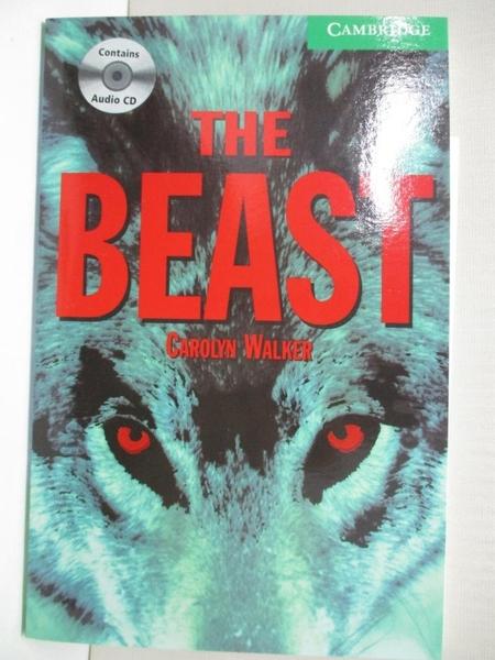 【書寶二手書T5/原文小說_IJ3】The Beast Level 3 Lower Intermediate Book and Audio CD Pack_Walker, Carolyn