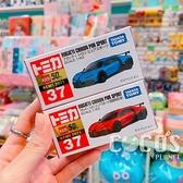 TOMICA 多美小汽車 NO.037 布加迪 Chiron Pur sport+初回 一組販售 COCOS TO175