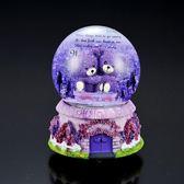 水晶球音樂盒八音盒雪花送男女生閨蜜小朋友同學兒童生日禮物女孩 朵拉朵衣櫥