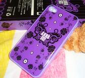 iphone 4 4s 深紫的誘惑 手機套(硬殼)
