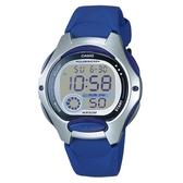 【CASIO】孩童時代十年電池電子錶-藍(LW-200-2A)