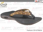 【速捷戶外】Chaco涼鞋 -CH-ETM24 美國專業戶外運動休閒拖鞋、沙灘鞋 男 Fathom  (咖啡格紋)