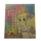【收藏天地】台灣紀念品*懷舊系列麻繩筆記本-可愛女孩