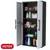 KETER XL PLUS塑鋼五層櫃W88D45H187CM  塑鋼材質 耐曬耐淋