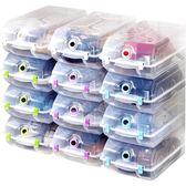 鞋盒 防潮加厚鞋盒水晶塑料透明鞋盒收納鞋子鞋盒男女鞋子收納盒10只裝