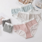 MUMU【TM00742】日系格紋印花棉質內褲。五色