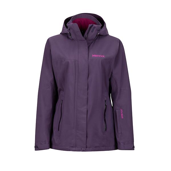 [Marmot] (女) Palisades GTX+羽絨兩件式防水保暖外套 深紫 (M35570-6926)