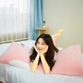 抱枕靠枕長枕頭夾腿側睡睡覺長條床上臥室可拆洗可愛大號方形孕婦 黛尼時尚精品