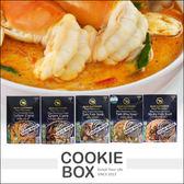 泰國 Blue Elephant 藍象 料理包 70g 5款 綠咖哩 打拋豬 椰香湯 泰式酸辣 *餅乾盒子*