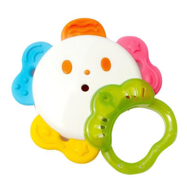 【奇買親子購物網】樂雅Toy Royal可消毒花型咬牙器