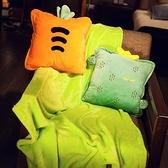 午睡枕 辦公室抱枕被子兩用汽車內靠墊午睡毯子枕頭神器折疊 晶彩