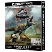 侏羅紀世界: 殞落國度 UHD+BD精裝鐵盒(4碟裝)Jurassic World: Fallen Kingdom UHD+BD Collector's Edition (4 DISC)