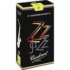 凱傑樂器 Vandoren ZZ Alto Reeds SAX 黑盒 中音竹片 2號