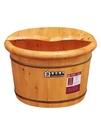 紫夜清風香柏木桶泡腳木桶足浴桶泡腳桶洗腳木桶足療木盆家用神器  快意購物網