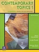 二手書博民逛書店《Contemporary Topics 1: Intermediate Listening and Note-taking Skills》 R2Y ISBN:0130948535
