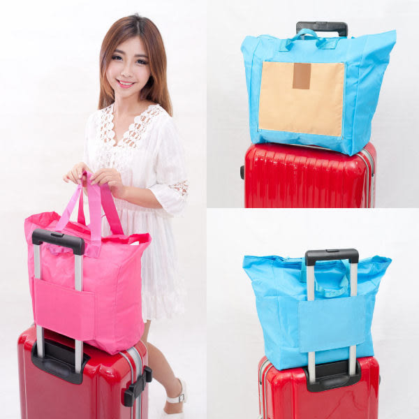 Qmishop 旅行出遊戶外折疊萬用收納包 大容量旅行包 電腦雜物包 洗漱包【QJ1265】Z