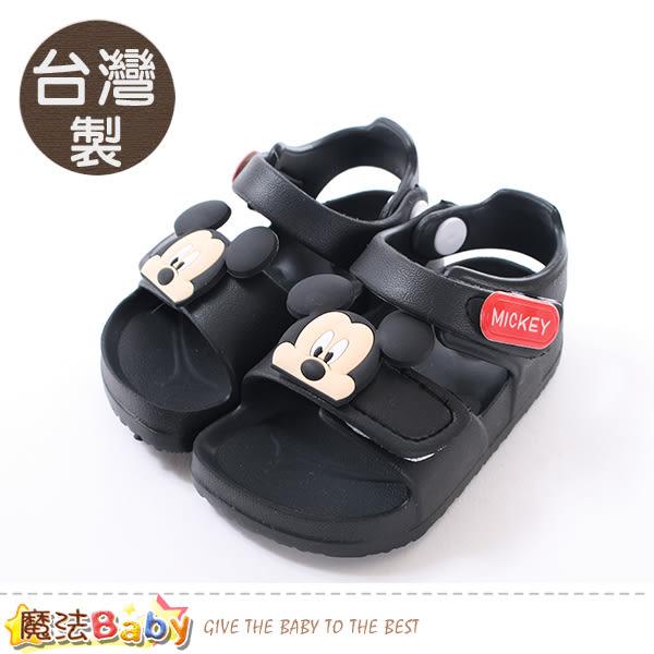 男童鞋 台灣製迪士尼米奇授權正版極輕涼鞋 魔法Baby