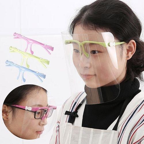 現貨▶透明防油濺面罩 防油煙護臉面罩 廚房炒菜防護面具