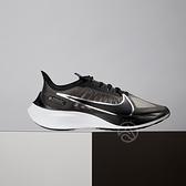 Nike Zoom Gravity 男女鞋 黑白 透氣 氣墊 慢跑鞋 BQ3203-002