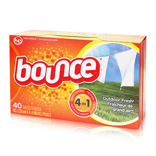 美國原裝進口Bounce 烘衣柔軟片 40片
