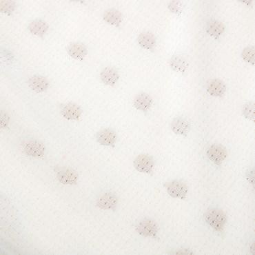 HOLA 馬來西亞天然乳膠枕按摩曲線型H12CM
