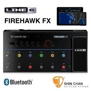 【電吉他綜效】【LINE6 FIREHAWK FX】【使用蘋果iOS 或是Android下載app】【由藍芽無線控制內部設定】