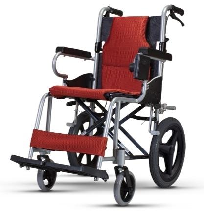 康揚 日式輕量輪椅 (加購背袋) KM-2500