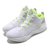 Asics 籃球鞋 Nova Flow 男 白 綠 專業 高筒 輕量 日系 亞瑟士 【ACS】 1063A028103