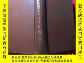 二手書博民逛書店anthology罕見of american literature【美國文學選】第2卷第1部分,精裝Y1635