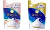日本製【Cow牛乳石鹼】Bounica美肌保濕沐浴乳 補充包400ml