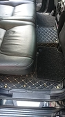 【車王小舖】Land Rover DISCOVERY 車王全包菱格款雙層腳踏墊 5人座 專車專用 實車安裝