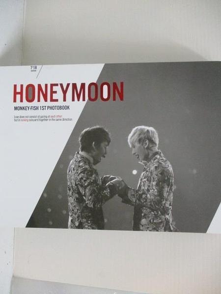 【書寶二手書T8/寫真集_I1R】HONEYMOON_Monkey-Fish 1st Photobook