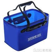 車刷子 折疊水桶車用便攜式車載伸縮大容量大號汽車戶外旅游刷車洗車專用 YXS 歌莉婭