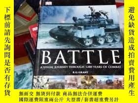 二手書博民逛書店Battle:罕見A Visual Journey Throug