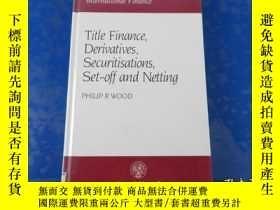 二手書博民逛書店Title罕見Finance Derivatives, Securitisations, Set-Off and