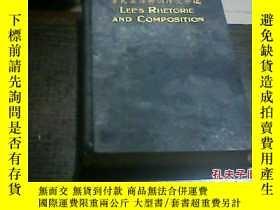 二手書博民逛書店罕見李氏英語修詞作文合編(16136 李登輝 商務印書館 出版1