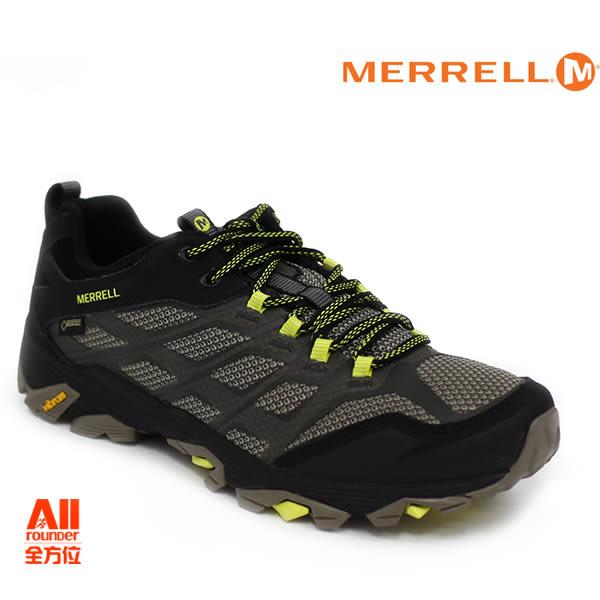 【Merrell】男款戶外鞋 MOAB FST GTX 多功能系列 -黑色(37601)【全方位運動戶外館】