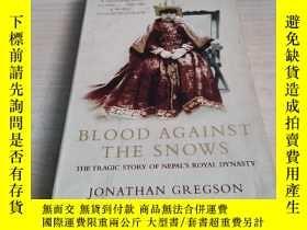 二手書博民逛書店Blood罕見Against the Snows: The Tr