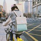 後背包書包女正韓高中學生雙肩包2018新款百搭簡約街拍背包【巴黎世家】