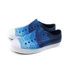 native 休閒鞋 洞洞鞋 藍色 男女款 11100101-4756 no050