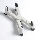 電腦X主機架機箱托架滑輪支架子