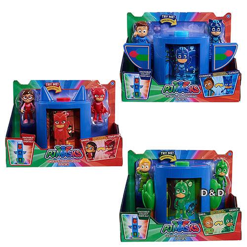 【PJ Masks 睡衣小英雄】變身基地組( 三款可選 )╭★ JOYBUS玩具百貨