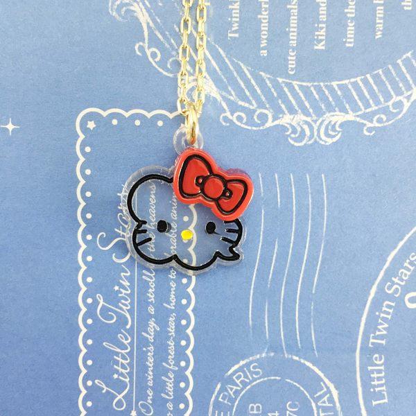 【震撼精品百貨】Hello Kitty 凱蒂貓~造型項鍊-氣球