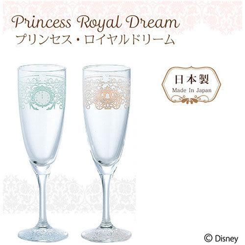 【震撼精品百貨】公主 系列Princess~皇家美夢系列玻璃高腳對杯組/香檳杯組-灰姑娘(一組兩個入)