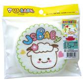喜羊羊 洗澡海綿-藍/粉【愛買】