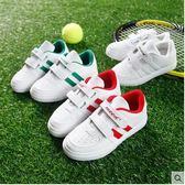 小白鞋兒童運動鞋男童鞋休閒鞋PLL2167【男人與流行】