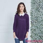 RED HOUSE-蕾赫斯-學院風素面兩件式針織上衣(共5色) 年前出清 滿599元才出貨
