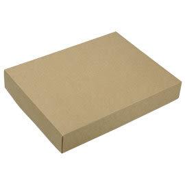 Z01001 (12入蛋規格) 素色牛皮盒-可加購內襯 (20入裝)